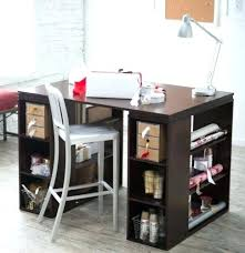 Small Craft Desk Crafting Table With Storage Desk Small White Craft Desk Small