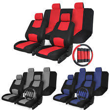 Auto Seat Upholstery Universal Car Seat Covers Set Ebay
