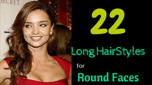 22 long hairstyles for round faces 2015 youtube