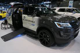 Black Ops Ford 2016 Chicago Auto Show Hits And Hidden Gems