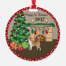dog first christmas christmas ornament cafepress