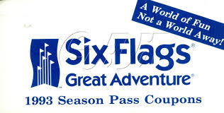 Discount Season Pass Six Flags Six Flags Great Adventure Season Pass Coupon Booklets