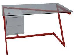 bureau dessus verre conforama bureau verre table de bureau en verre bureau design
