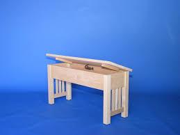 mission bench with shallow storage u2013 22 series