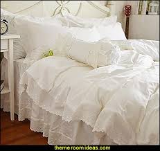 Ruffle Bed Set Decorating Theme Bedrooms Maries Manor Victorian Decorating