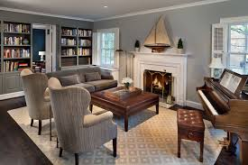ethan allen home interiors traditional living room with baby grand piano by anthony wilder