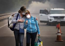 Wildfire Ash Car Wash by Deadly And Vast California Wildfires Could Gain Momentum Nation