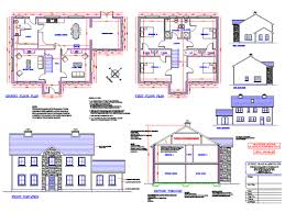 house construction plans hubert deane associates house plans planning permission