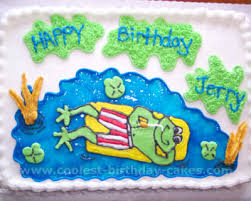 coolest frog cake photos web u0027s largest homemade birthday cake