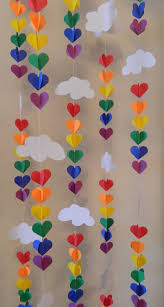Home Made Baby Shower Decorations by Baby Shower Decor Sprinkle Party 3d Clouds And Ra 0 Jpg 801 1500