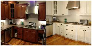 kitchen cabinet update how to update oak kitchen cabinets before and after under kitchen