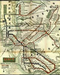 Washington Subway Map by Bmt 1924 Gif