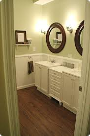 nice green paint color ideas for a small bathroom pictures 03