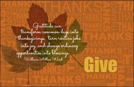 week 2 a month of giving thanks what are summer staff thankful