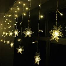 Led Snowflake Lights Outdoor by Aliexpress Com Buy Holiday Lighting 3 5m 96 Led Snowflake Fairy