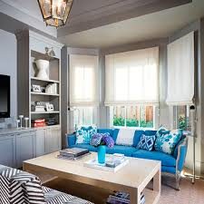 Blue Sofa Living Room Design by Turquoise Blue Sofa Design Ideas