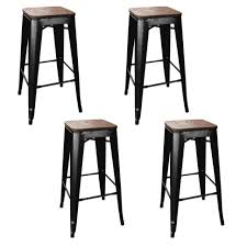bar stools wooden bar stools with backs backless low back