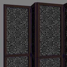 wooden room dividers room divider wood carving 3d cgtrader