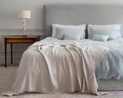 linen bedding relaxed bedroom looks natural bed co