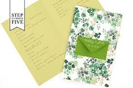 Making Wedding Programs Diy Tutorial Seed Packet Wedding Ceremony Program