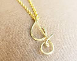 curisve j cursive j necklace etsy