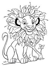 free printable simba coloring pages nala colouring pictures