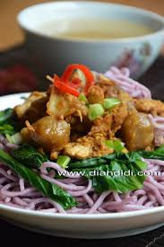 membuat mie warna ungu diah didi s kitchen mie ayam bakso ubi ungu homemade