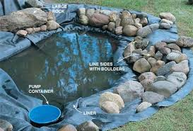 How To Build A Fish Pond In Your Backyard How To Build A Small Pond In Your Backyard Outdoor Goods