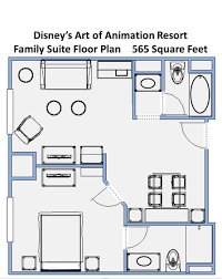 Disney Cruise Floor Plans by Randy Hobday Walt Disney World Resort Hotels Art Of Animation