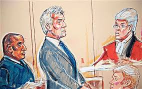 quango a history of courtroom sketch art vice