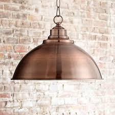 kitchen collection southton southton copper dome 13 1 4 wide pendant light 3f581 ls plus