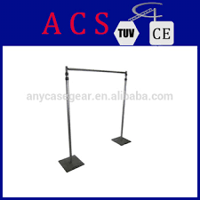 Wedding Backdrop Stand Acs Aluminum Wedding Backdrop Stand Portable Pipe And Drape