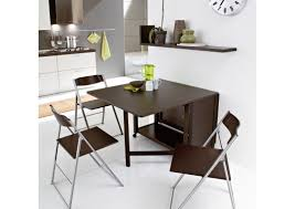 Folding Dining Table For Small Space Table Awesome Dining Tables With Fold Away Chairs Dining Table