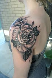 best 25 rose shoulder tattoos ideas on pinterest 90 in roman