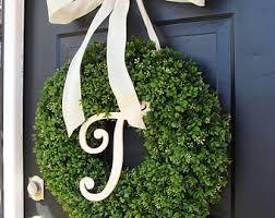 view boxwood wreaths by elegantwreath on etsy