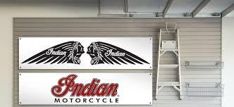 indian garage workshop banner