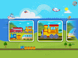 trains planes puzzle for kids android apps on google play