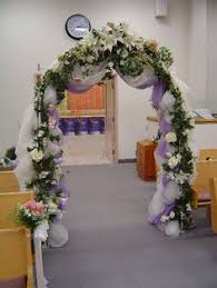 wedding arches decorated with tulle indoor wedding altars wedding arch ideas in front of the sheer