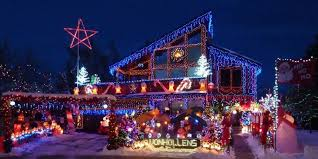 Christmas Lights On House by Decorations Best Places For Outdoor Christmas Decoration Ideas