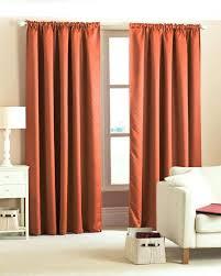 Orange Thermal Curtains Curtain Orange Thermal Curtains Bright Orange Thermal Curtains