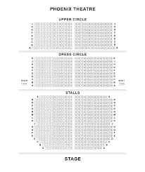 Golden Girls Floor Plan by Phoenix Theatre London Seating Plan Share Seating Tips
