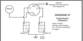 dual battery switch wiring diagram u0026 marine battery system wiring