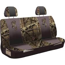 browning bench style universal seat cover mossy oak infinity
