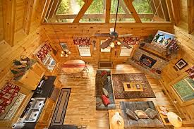 cabin open floor plans private bedroom cabin rental sevierville rentals on ranch style