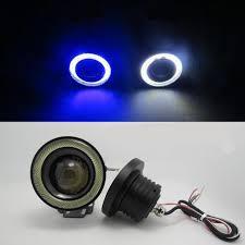 3 inch fog light kit 2pcs lot car fog lights angel eyes 76mm 3 inch 3200lm universal