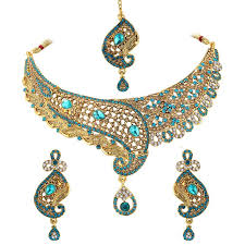 purple stone necklace set images Buy spargz new indian bollywood gold plated purple ad stone jpg