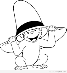 http timykids curious george coloring pages print html