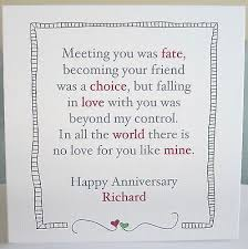wedding quotes to husband 1st wedding anniversary card for husband gift ideas bethmaru