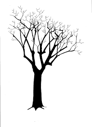 simple tree silhouette free download clip art free clip art