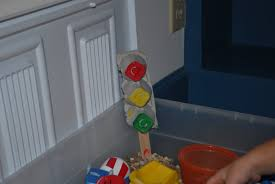 structured play traffic light project